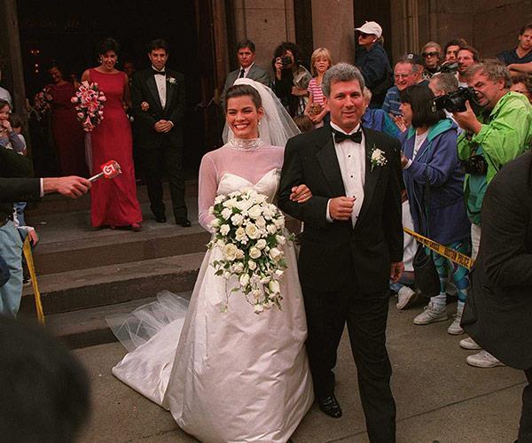 Nancy married her agent Jerry Solomon.