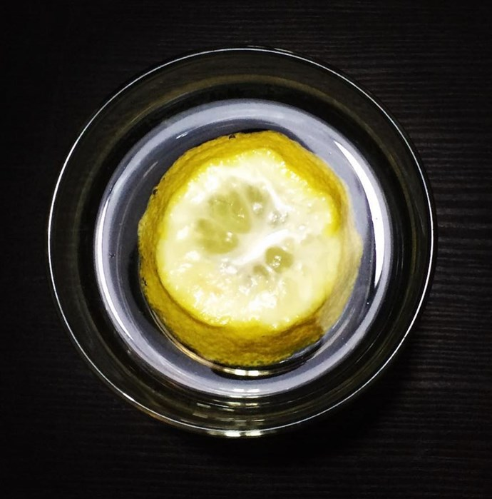 "Not really a dish, but any beverage with lemon should be avoided. ""I never order water or soda with a lemon in it because I know that the outside of the lemon is not cleaned,"" said a waiter."
