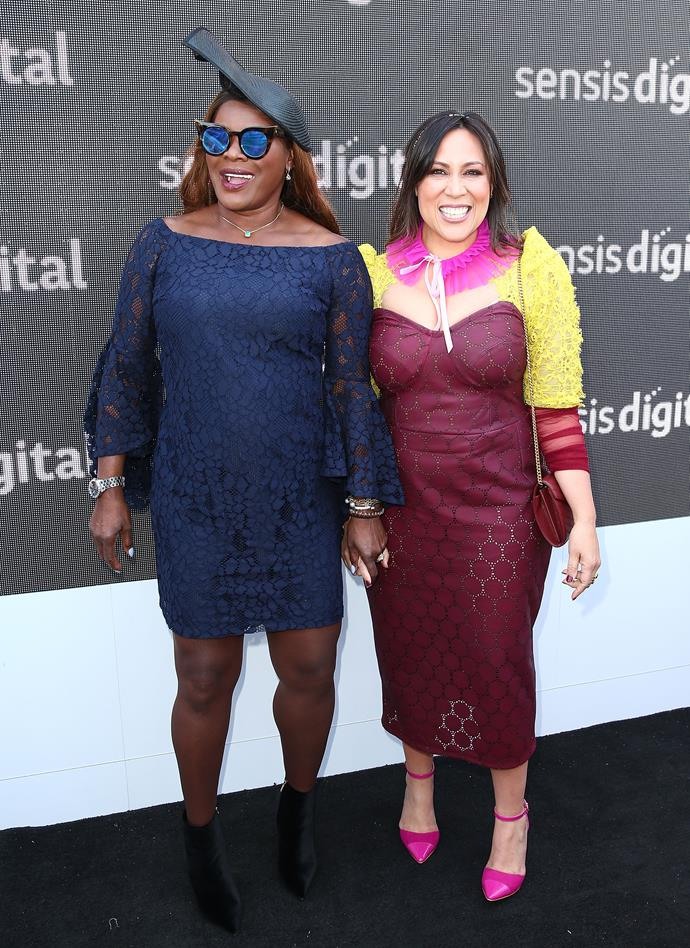 Two of our favourite Aussie singers, Marcia Hines and Kate Ceberano, showing us they're as stylish as they are talented with a microphone.