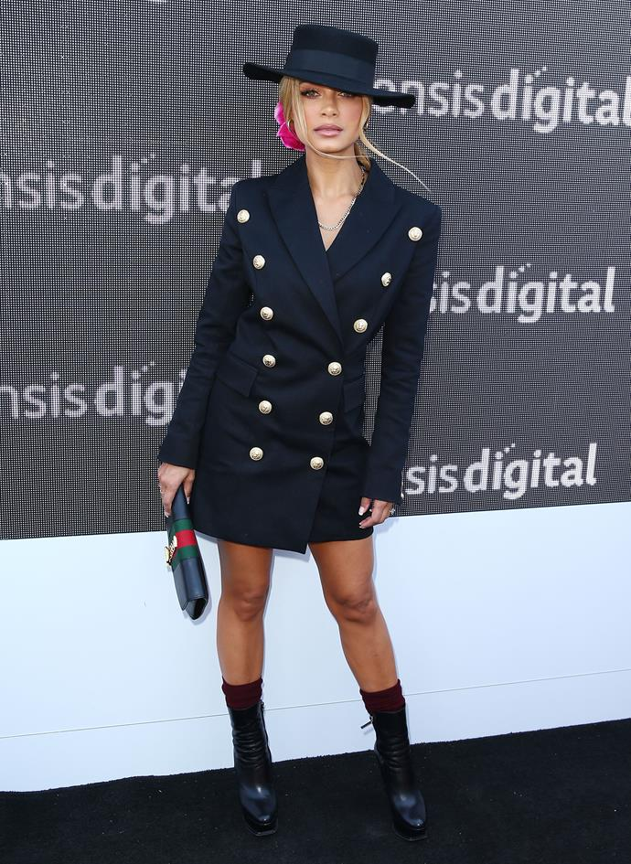Havana Brown takes businesswoman-chic to stylish new heights.