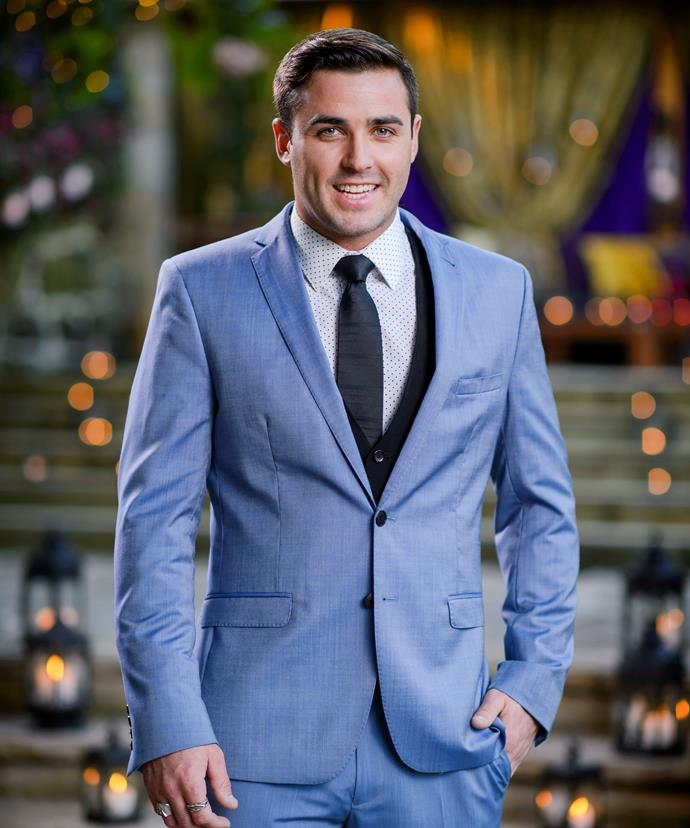 The prankster of Sam Frost's shot at love, **Davey Lloyd** will bring the laughs.