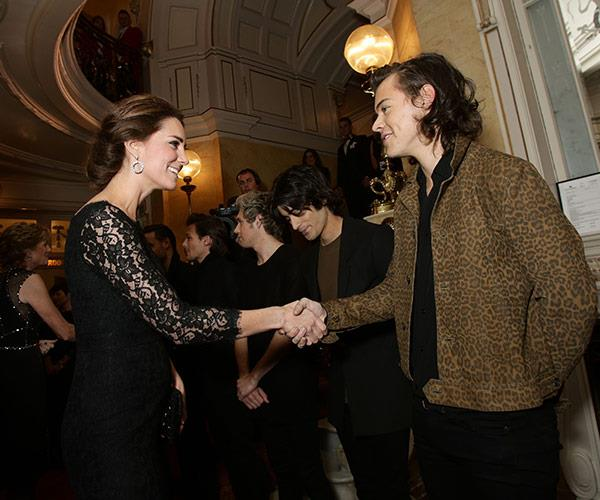 If he's good enough for the future Queen of England, then Harry Styles is good enough for the ARIAs.