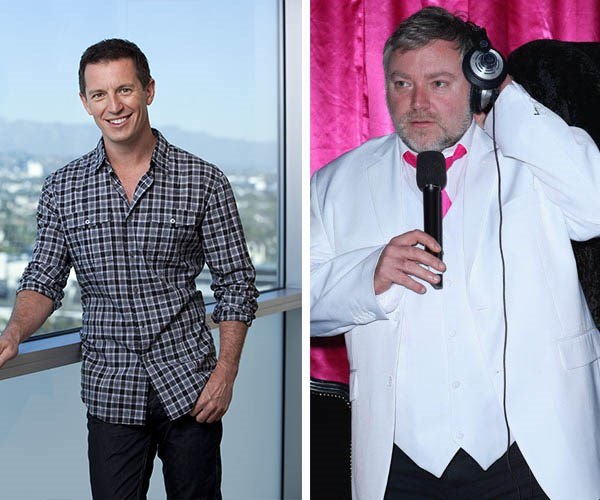 While some fans think it could be Kyle Sandilands and Rove McManus