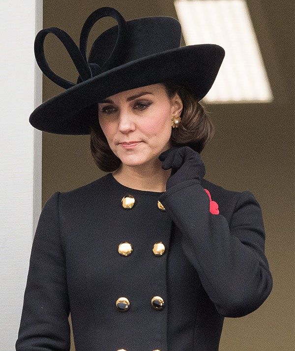 A pregnant Duchess Catherine was also in attendance.