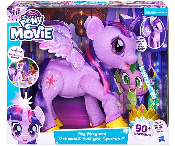 """This pretty toy is expected to be *big* this Christmas. My Magical Princess Twilight Sparkle coincides with a *My Little Pony* movie that will be released this month. [$199.99, Toys R Us](https://www.toysrus.com.au/my-little-pony-the-movie-my-magical-princess-twilight-sparkle_1181113/ target=""""_blank"""" rel=""""nofollow"""")."""