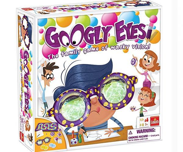 "Nauseating fun for the whole family! This hilarious drawing game challenges your vision as you play wearing vision-distorting glasses. [$48.95, Fruugo](https://www.fruugoaustralia.com/university-games-googly-eyes-board-game/p-12419425-24833504|target=""_blank""
