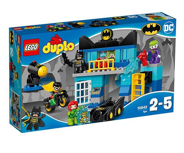 "Little superheros will love playing with the iconic Batman characters in this Lego Duplo set for ages 2-5 years. [$69.99, Toys R Us](https://www.toysrus.com.au/lego-duplo-batcave-challenge-10842_8028527/|target=""_blank""