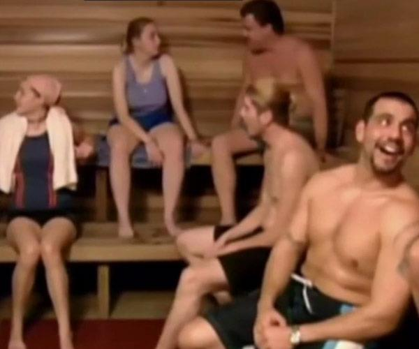 "Scientology label their rehab program, which involves several weeks of ""sauna therapy"", as ""uniquely effective."" (Image/Narconon YouTube)"