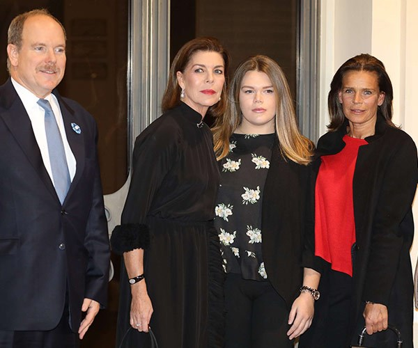 "Say cheese! [Prince Albert](https://www.nowtolove.com.au/royals/international-royals/prince-albert-speaks-candidly-about-his-mothers-death-40871|target=""_blank"") makes a rare public appearance with his sister Princess Caroline, 60, niece Camille Marie Kelly Gottlieb, 19, and his other sister Princess Stéphanie, 52. We're not body language experts but things looks a little uncomfortable."