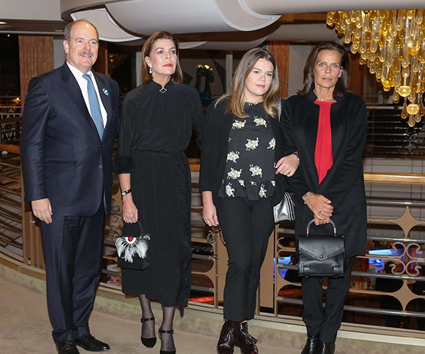 The royals came together on the eve of their mother **Princess Grace's** birthday and held a tribute evening at the palace in Monaco. The Hollywood-actress-turned-full-time-royal tragically died in 1982 in a car crash.