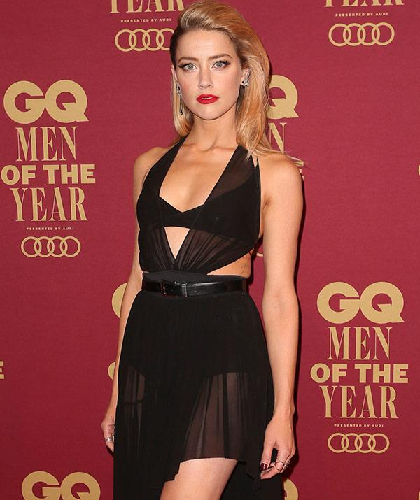 Amber Heard took home the GQ Woman of the Year award.