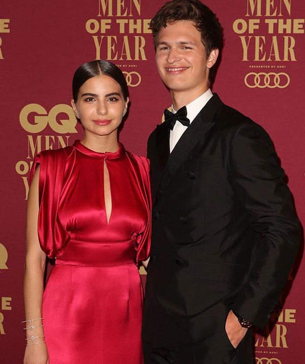 Ansel Elgort and his girlfriend Violetta Komyshan bring Hollywood glamour to the event.