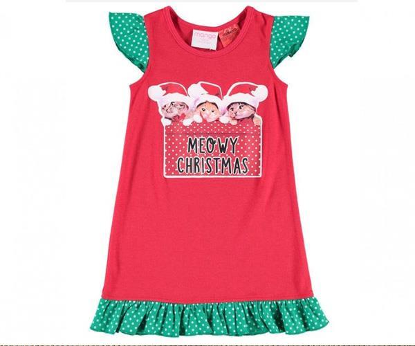 "It's a very merry Catmis with this festive nightie. [$8, Best & Less](http://www.bestandless.com.au/Kids-Clothing/Sleepwear/Girls-3-6-Sleepwear/Nighties/Girls-Knit-Nightie/p/693511|target=""_blank""|rel=""nofollow"")."