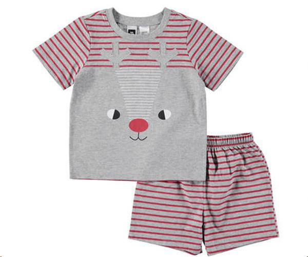 """And a matching set for the Rudolph's. [$9, Kmart](http://www.kmart.com.au/product/novelty-pyjama-set/1794866