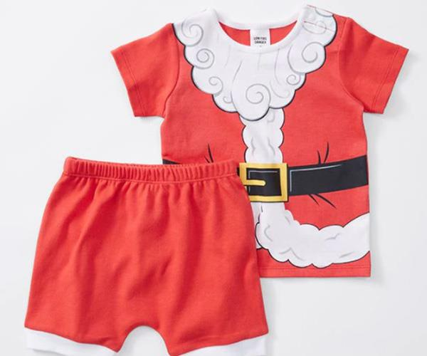 """Santa baby! This set is just too sweet. [$12, Target.](https://www.target.com.au/p/baby-christmas-santa-pyjama-set/60632173?utm_term=60632173&utm_content=baby-christmas-santa-pyjama-set&utm_source=google&utm_medium=merchant-site&utm_campaign=merchant-site&gclid=EAIaIQobChMIpbD2l6bC1wIV2jUrCh3IAgr4EAQYAiABEgKVmfD_BwE&gclsrc=aw.ds&dclid=CP3g1ZymwtcCFYGDvAodP2MPeg