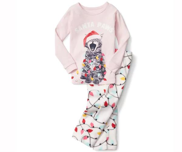 """For families jetting off for a white Christmas, these cosy PJs will keep kids warm. [$39.95, Gap.](http://www.gap.com/browse/product.do?pcid=5058&vid=1&pid=936230002