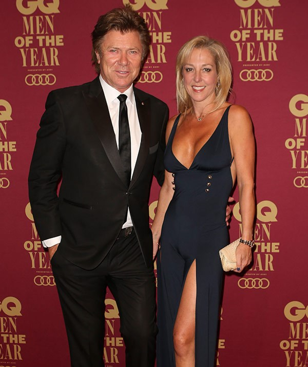 Dickie and Virginia at the GQ Awards this week.