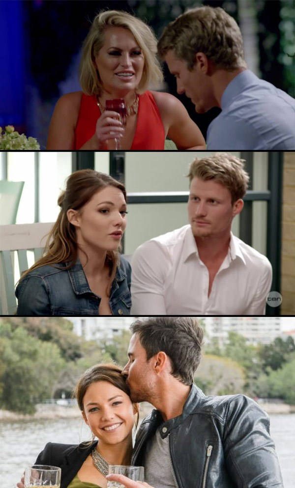 Understanding the Bachie web: Keira dated Richie, who dated Sam Frost. And she infamously dumped Michael... Who is now forced to date Keira!