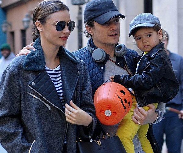 Miranda is already mum to her son Flynn, who she shares with ex Orlando Bloom.