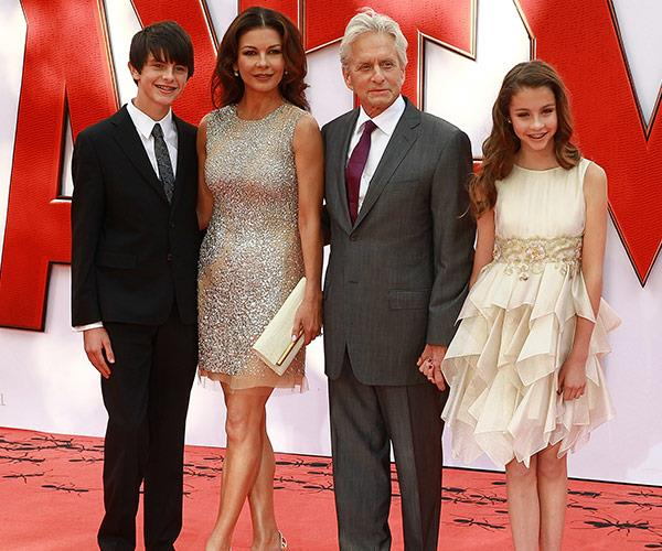 The Hollywood heavyweights, pictured in 2015, are the proud parents to a son Dylan and daughter Carys.