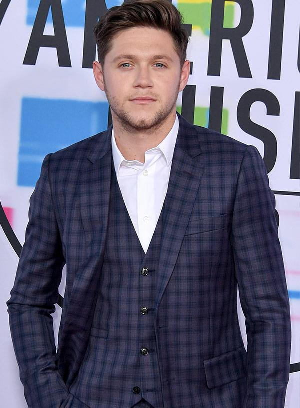 You can't go wrong with a chequered suit and we're feeling the direction of Niall Horan's suit.