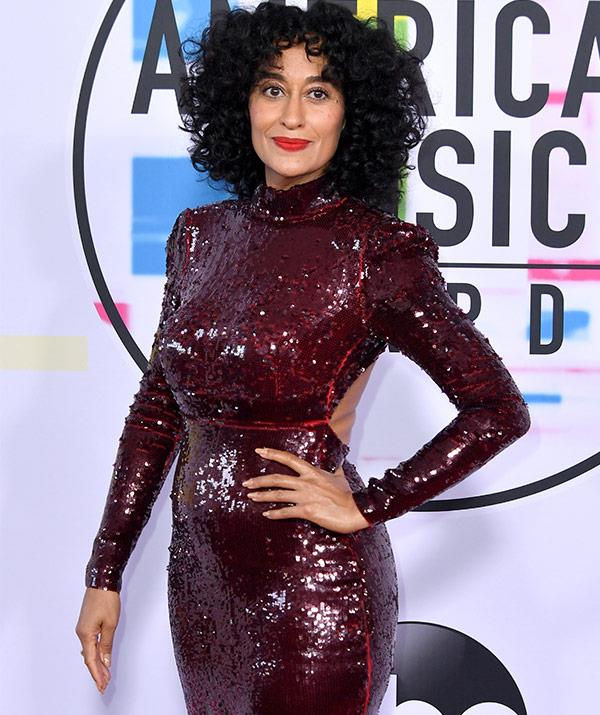 Including her daughter and the evening's host, Tracee Ellis Ross.