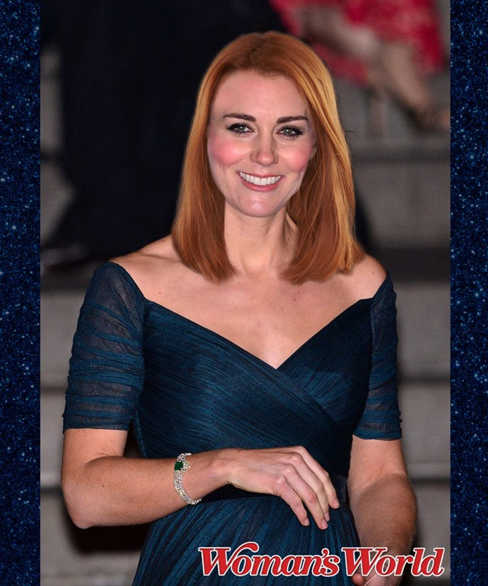 The Duchess as a ginger? We're all for it!