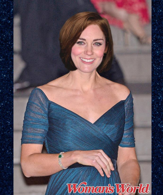 We're hoping the Duchess will someday sport a stylish bob like this one.