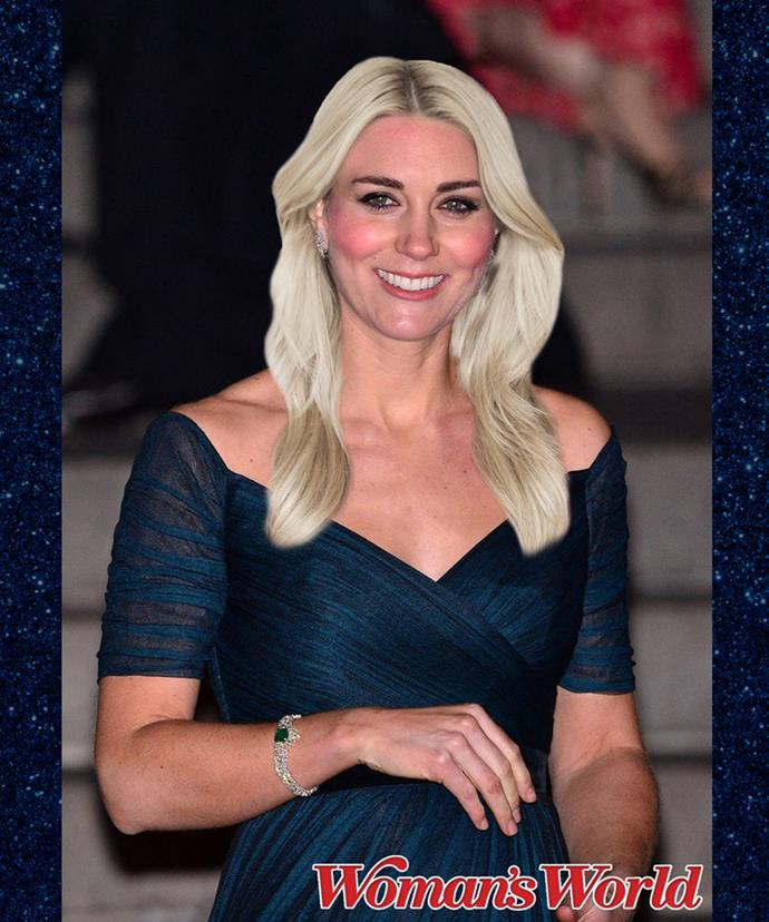 Going bleach blonde would be a bold move, but she could still pull it off. Don't you think?