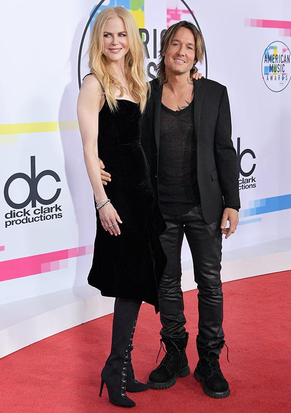 Aussie royalty Nicole Kidman and Keith Urban were the star standouts of the red carpet.