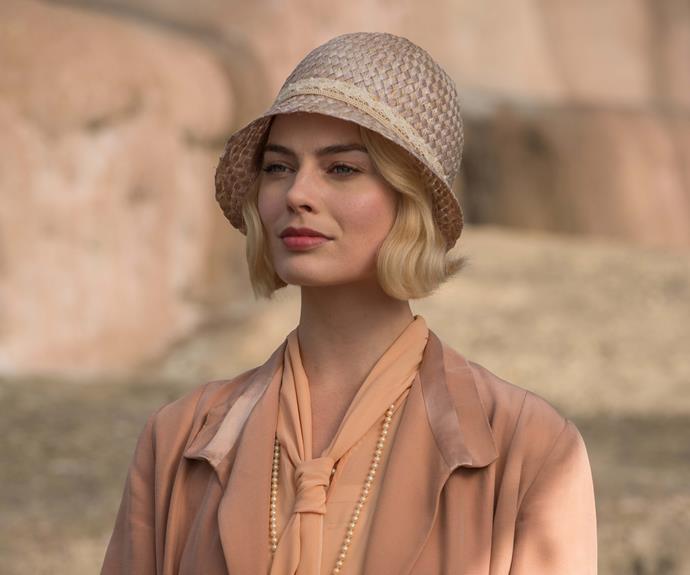 Margot shines as socialite Daphne in *Goodbye Christopher Robin*.