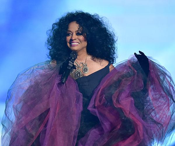 There really is no one quite like the extraordinary Diana Ross. The legendary singer took home the night's biggest honour, the Lifetime Achievement award.
