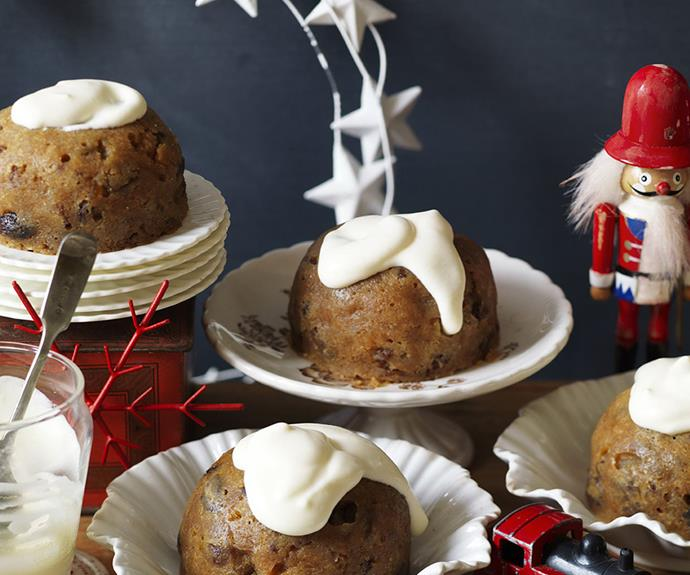 "**Microwave Christmas puddings:** Forgot you were in charge of the Christmas pudding this year? Don't stress. These microwavable portioned-size puddings will help save the day – and have Grandma asking for the recipe. Click [here](http://www.foodtolove.com.au/recipes/microwave-christmas-puddings-29367|target=""_blank"") to see the full recipe."
