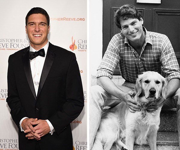 Will Reeve, one of the sons of late *Superman* star Christopher Reeve and late actress Dana Reeve, stepped out in New York City recently - and we can't get over how much Will looks like his famous dad! The 25-year-old is the spitting image of his father.