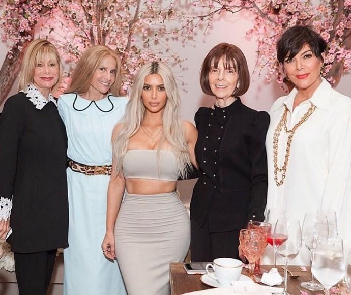 "Kim Kardashian is ""So thankful!"" in 2017. We bet you are, Kim!"