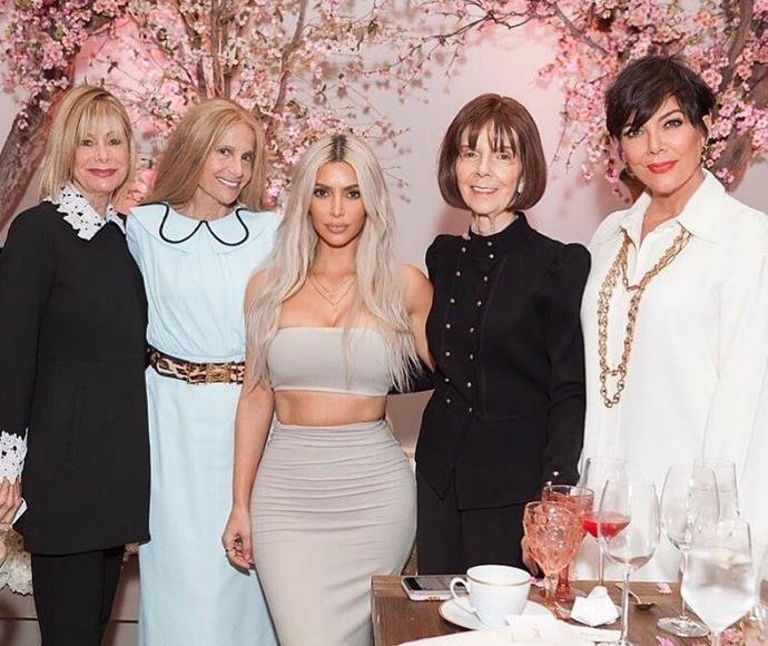 "Kim Kardashian is ""So thankful!"" in 2017."