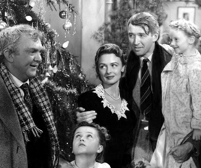 "**It's A Wonderful Life (1946):** A favourite holiday movie, the classic film is also a favourite of stars **Donna Reed**, **James Stewart** and director **Frank Capra**, who called it ""the greatest film he ever made"". A festive tale of appreciating life, George wishes to disappear but when it's granted by an angel he realises how many lives he has touched and what an impact his absence would have."