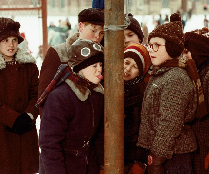 **A Christmas Story (1983):** Based on the works of **Jean Shepherd**, this low-budget film became exceedingly popular thanks to its boyish charm, told through the eyes of nine-year-old Ralphie. Unlike other festive films at the time, A Christmas Story relished the craziness, the realities and the downfalls of the merry season as celebrated by a normal family.