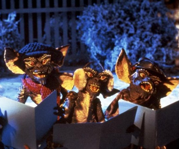 **Gremlins (1984):** A ho ho horrifying Christmas gift gone wrong, these creepy creatures are very temperamental. When Billy is gifted a Gremlin on Christmas Eve he breaks all the rules – no water, no light and no food after midnight – and has to face the frightful consequences.