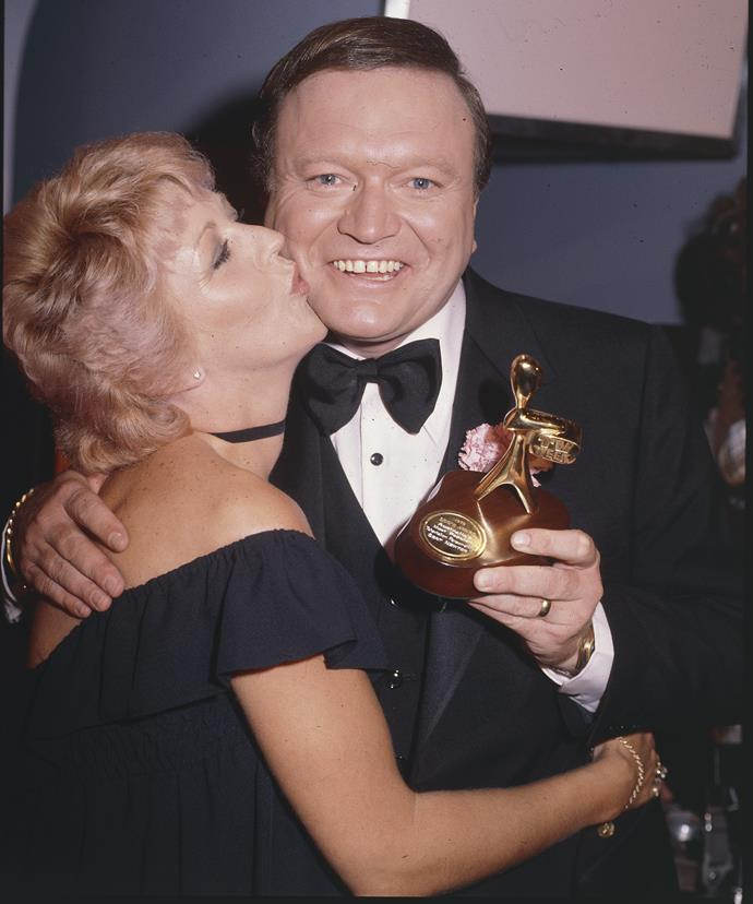"""People forget that Patti won a Logie a long time before I did,"" Bert told TV WEEK."