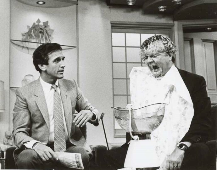 Bert cemented his TV-star status on *The Don Lane Show* in the 1970s.