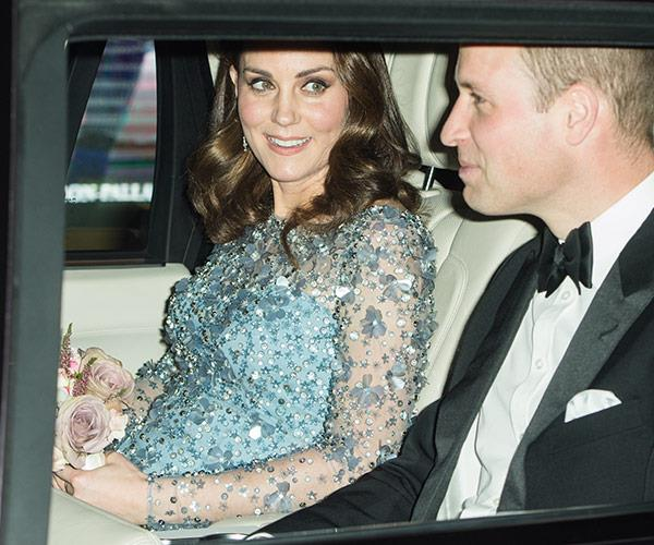 The royal couple are set to welcome their third child in April 2018.