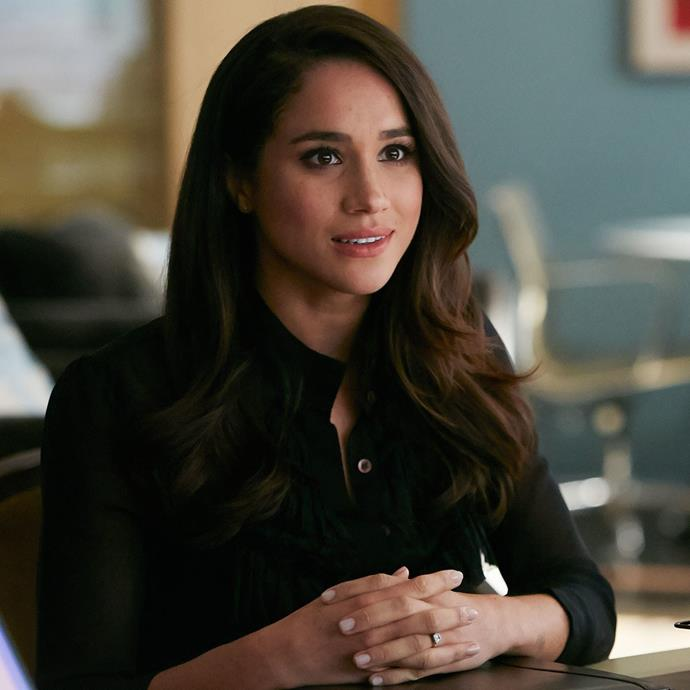Meghan starred as Rachel Zane for seven seasons on the TV legal drama *Suits*.