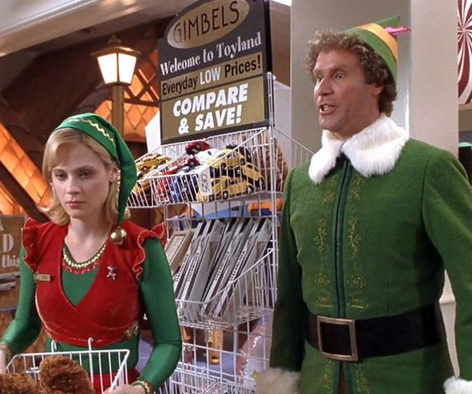 ***Elf* (2003, Stan)** <br><br> After accidentally transporting to the North Pole as an infant, Buddy (Will Ferrell) travels to New York in full elf uniform searching for his real father.