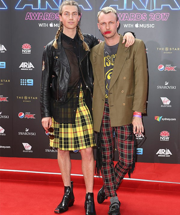 """Cheque it out! Dickie's son [Christian Wilkins](https://www.nowtolove.com.au/celebrity/celeb-news/richard-wilkins-praises-christian-wilkins-marriage-equality-42799