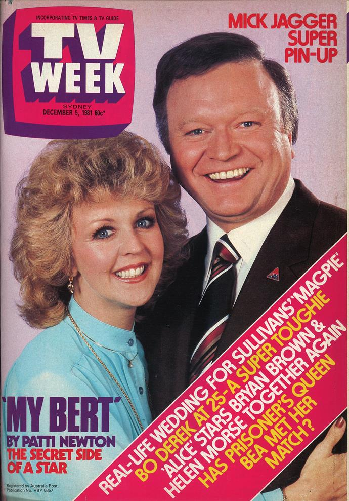 1981: Australia's golden couple - Bert and Patti Newton.