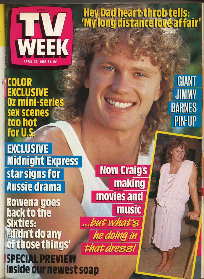 1988: The year Craig McLachlan's mullet was iconic!
