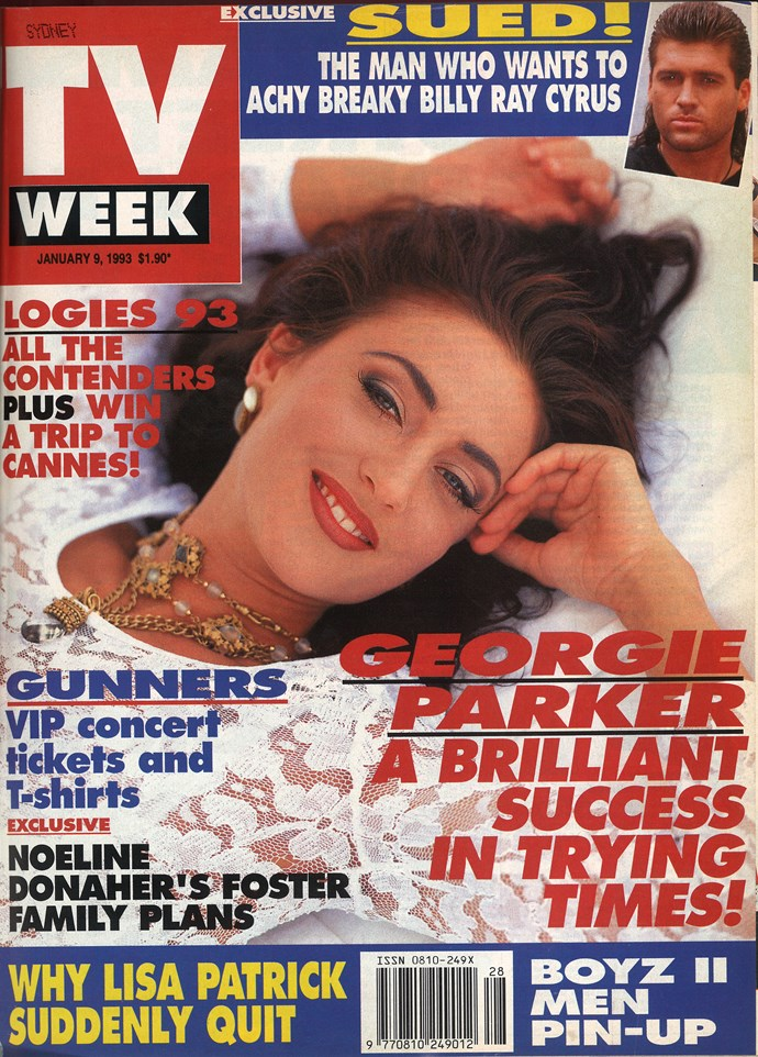 1993: Georgie Parker was - and still is - a stunner!