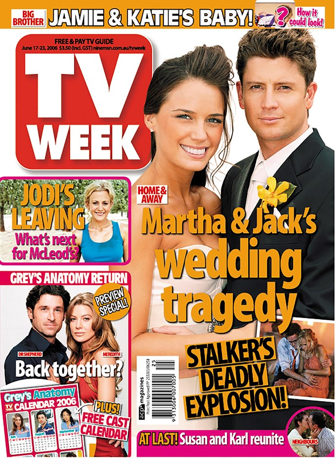2006: A year that featured *Home And Away* (of course), *McLeod's Daughters* and *Grey's Anatomy*.