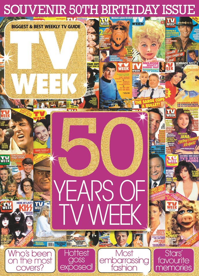 2007: Celebrating 50 years of TV WEEK!